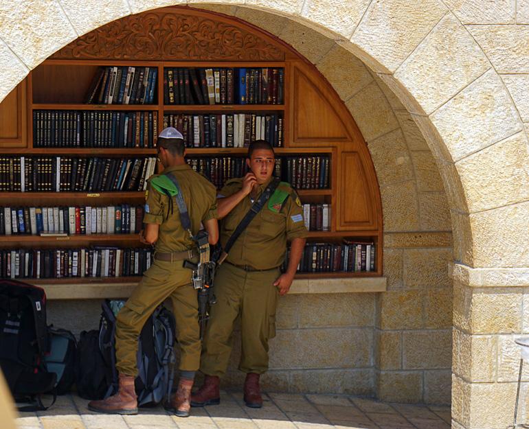 Travellers Insight Reiseblog Jerusalem Armee