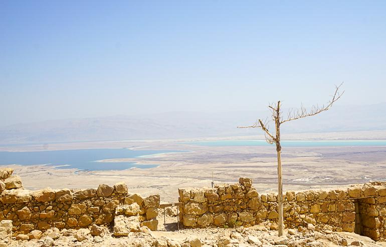 Travellers Insight Reiseblog Jerusalem Ausblick Masada