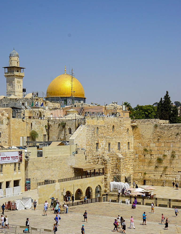 Travellers Insight Reiseblog Jerusalem Klagemauer Felsendom