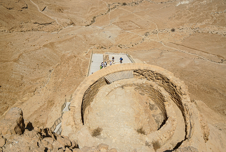 Travellers Insight Reiseblog Jerusalem Masada Burgfestung