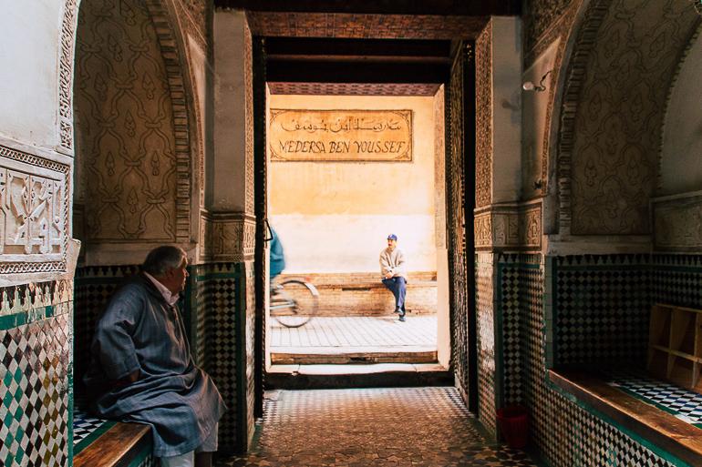 Travellers Insight Reiseblog Marokko Roadtrip Alte Koranschule Ben Youssef