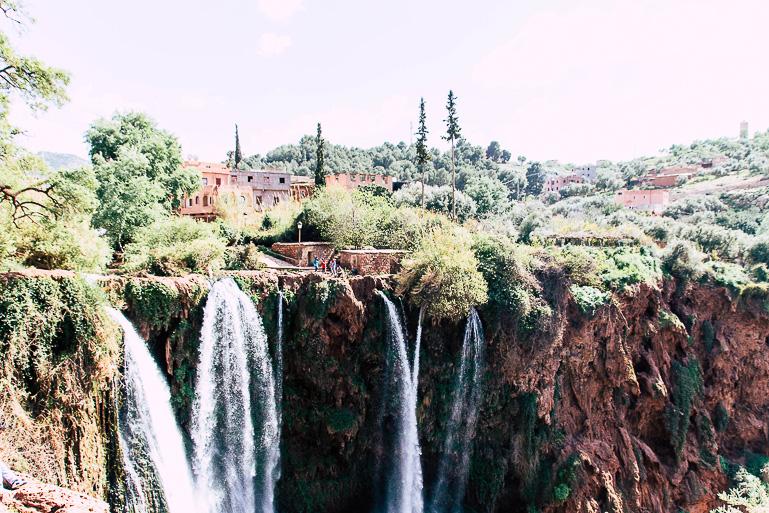 Travellers Insight Reiseblog Marokko Roadtrip Ouzoud Wasserfälle