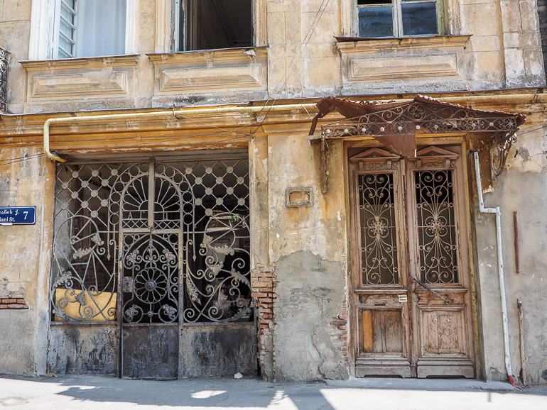 Travellers Insight Reiseblog Tbilissi Sololaki