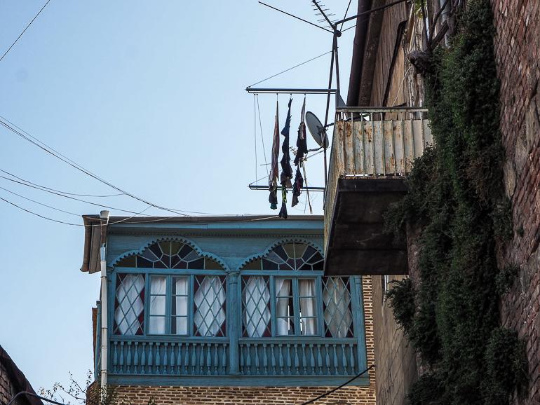 Travellers Insight Reiseblog Tbilissi Unteres Kala Wäsche