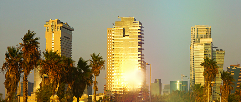 Travellers Insight Reiseblog Tel Aviv Skyline