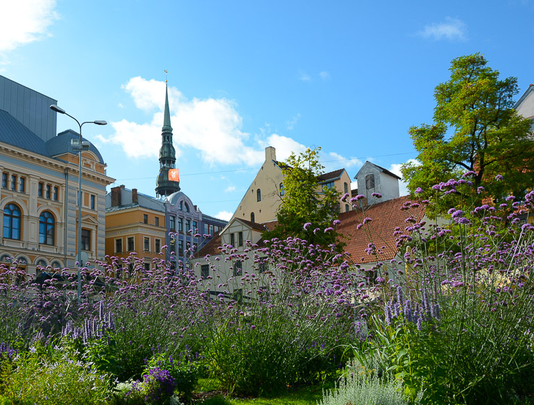Travellers Insight Reiseblog Riga Altstadt Platz
