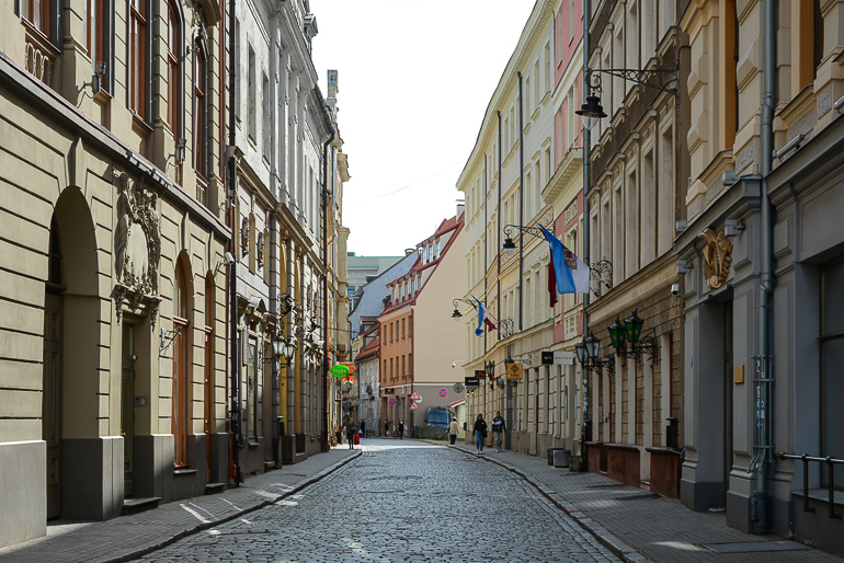 Travellers Insight Reiseblog Riga Altstadt Straße