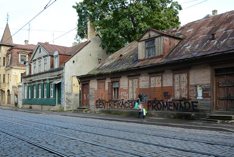 Travellers Insight Reiseblog Riga Miera lela Straße
