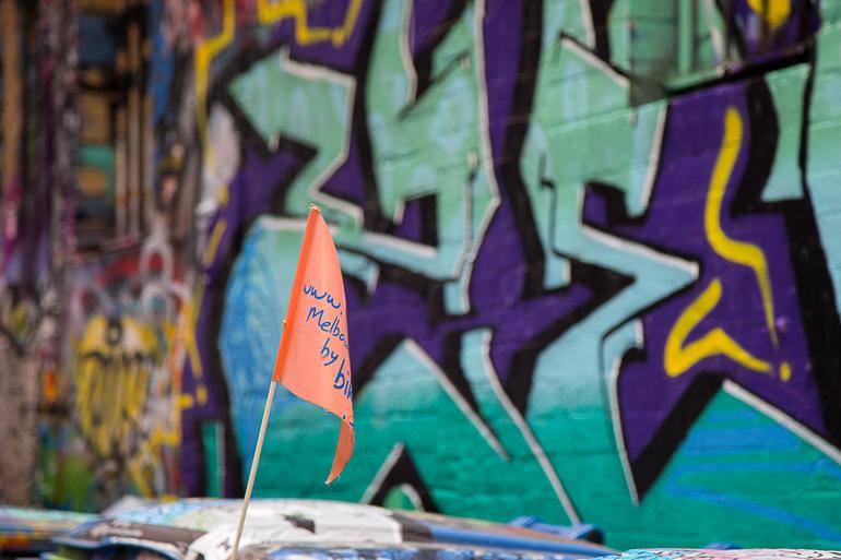 Victoria, Australien: Graffiti