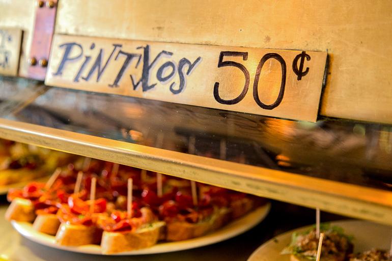 Victoria, Australien: Pintxos Snacks