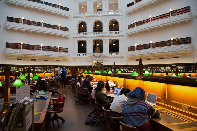 Victoria, Australien: Public Library Melbourne