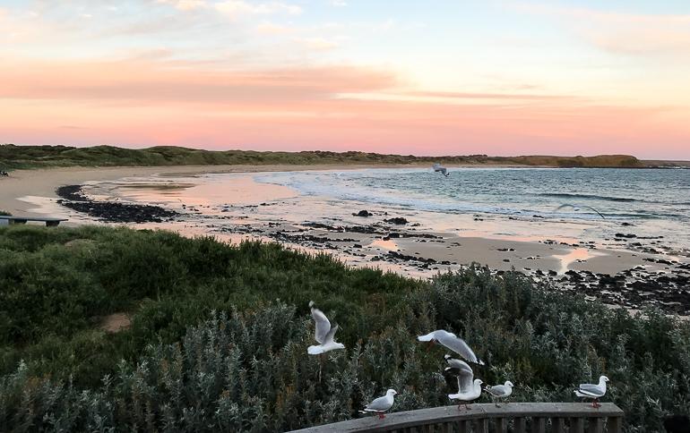 Victoria, Australien: Blick über Phillip Island