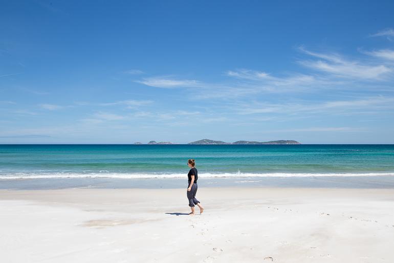 Travellers Insight Reiseblog Yarra Valley Squeaky Beach