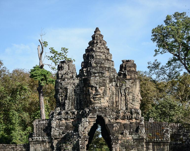 Travellers Insight Reiseblog Kambodscha-Rundreise Angkor Thom Südtor
