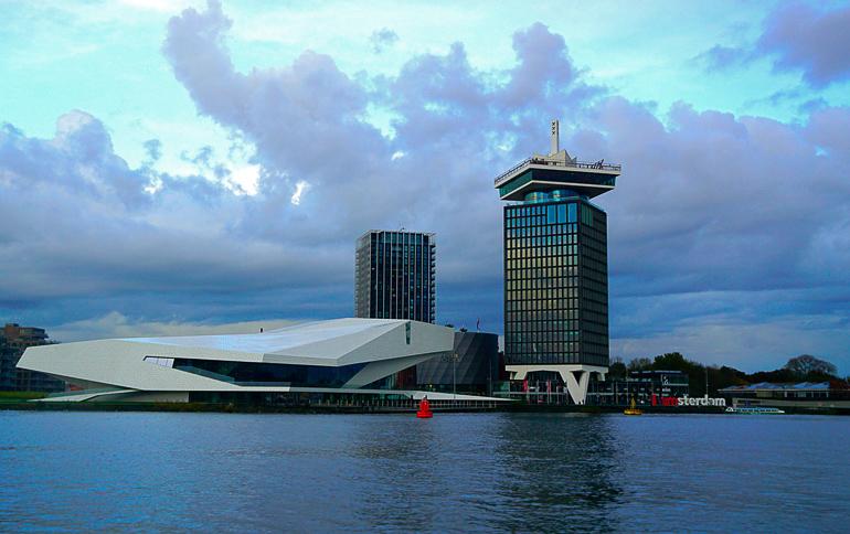 Travellers Insight Reiseblog Amsterdam Sehenswürdigkeiten A'Dam Tower Eye Museum.