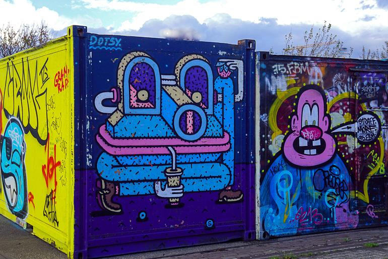 Travellers Insight Reiseblog Amsterdam Sehenswürdigkeiten NDSM Graffiti