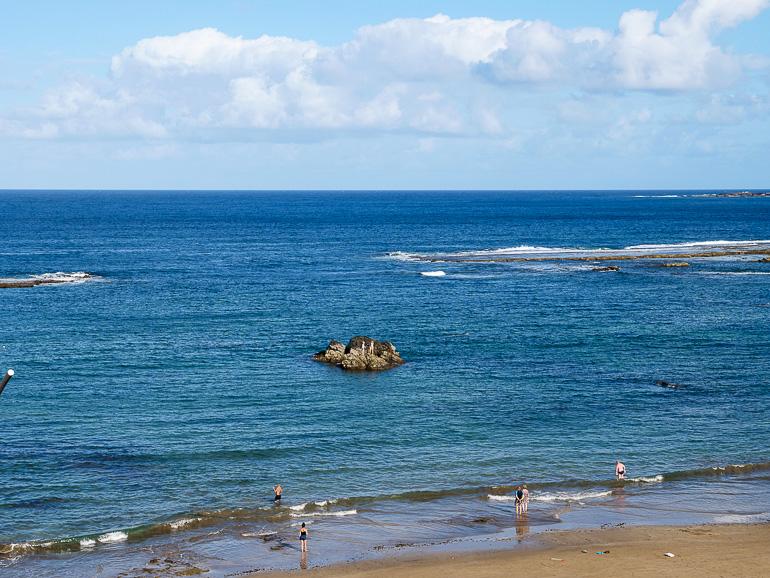Travellers Insight Reiseblog Las Palmas Ausblick auf Meer