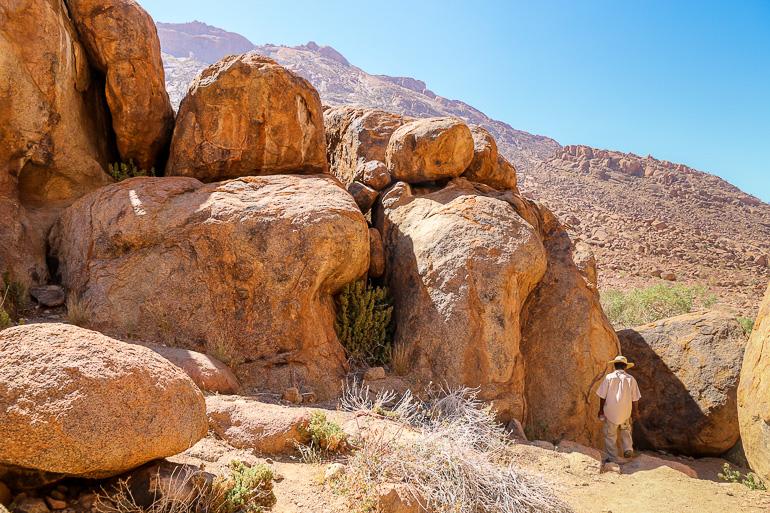 Travellers Insight Reiseblog Namibia Rundreise Felsmalerei Brandberg