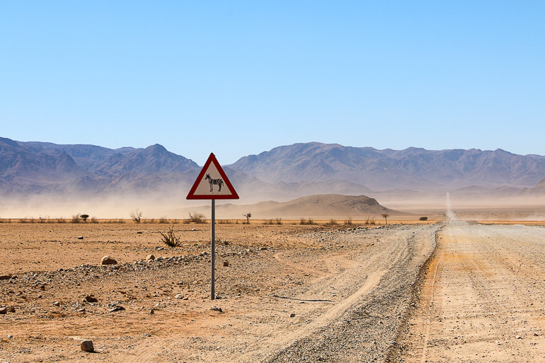 Travellers Insight Reiseblog Namibia Rundreise Roadtrip Straße