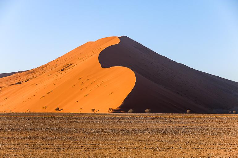 Travellers Insight Reiseblog Namibia Rundreise Sossusvlei Dünen