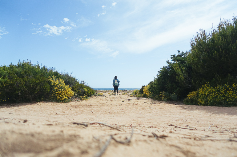 Travellers Insight Reiseblog Wandern auf Mallorca Strand
