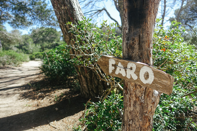 Travellers Insight Reiseblog Wandern auf Mallorca Wegweiser