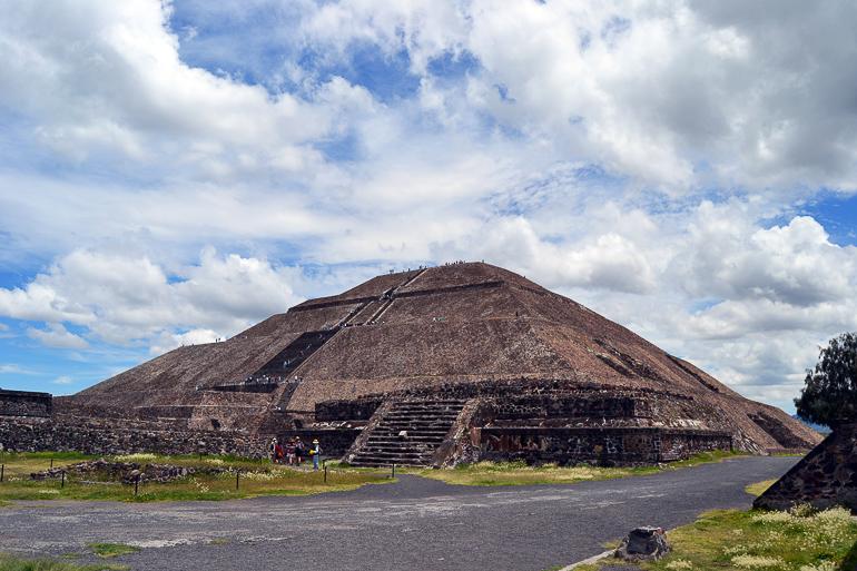 Travellers Insight Reiseblog Mexiko-Stadt Tagesausflug Sonnenpyramide
