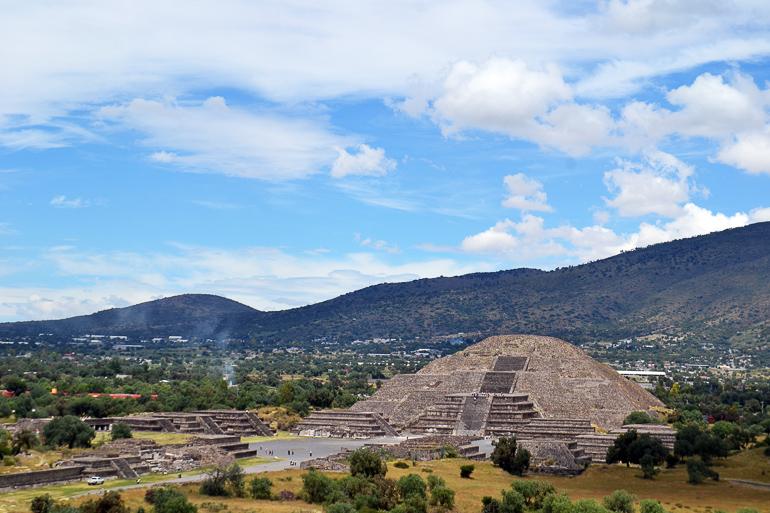 Travellers Insight Reiseblog Mexiko-Stadt Tagesausflug Mondpyramide
