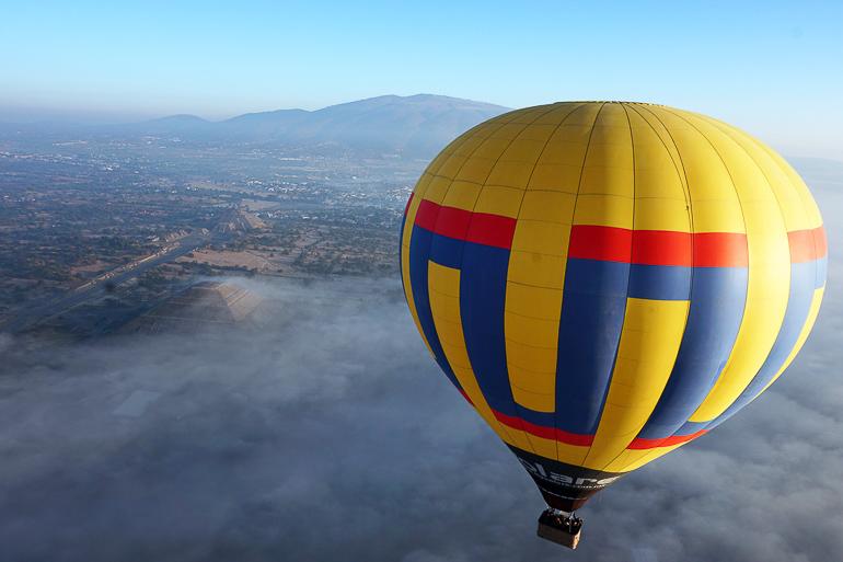 Travellers Insight Reiseblog Mexiko-Stadt Tagesausflug Heißluftballon