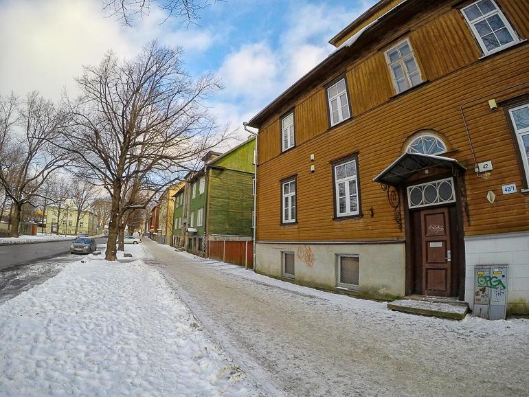 Travellers Insight Reiseblog Tallinns Sehenswürdigkeiten Holzhäuser Kalamaja