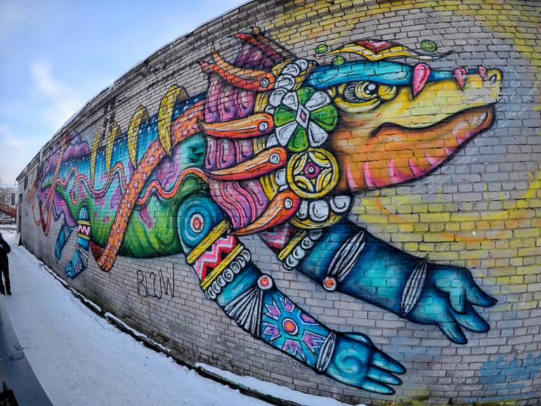 Travellers Insight Reiseblog Tallinns Sehenswürdigkeiten Streetart Kalamaja
