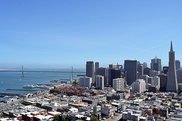 Travellers Insight Reiseblog Blick auf San Francisco Hotspots