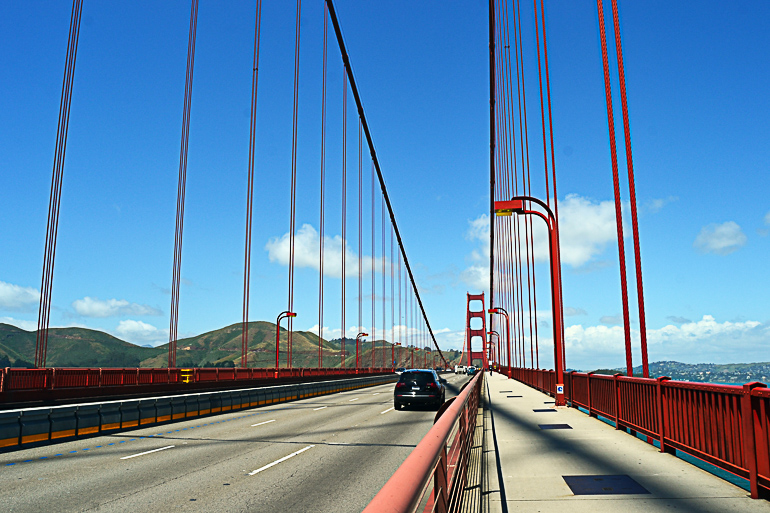 Travellers Insight Reiseblog San Francisco Hotspots Golden Gate Bridge