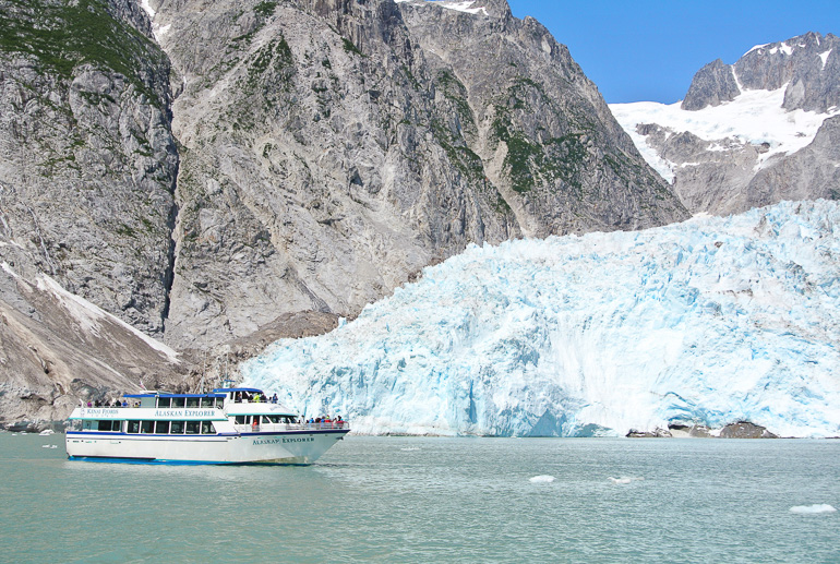 Travellers Insight Reiseblog Alaska Yukon Roadtrip Kenai Gletscher