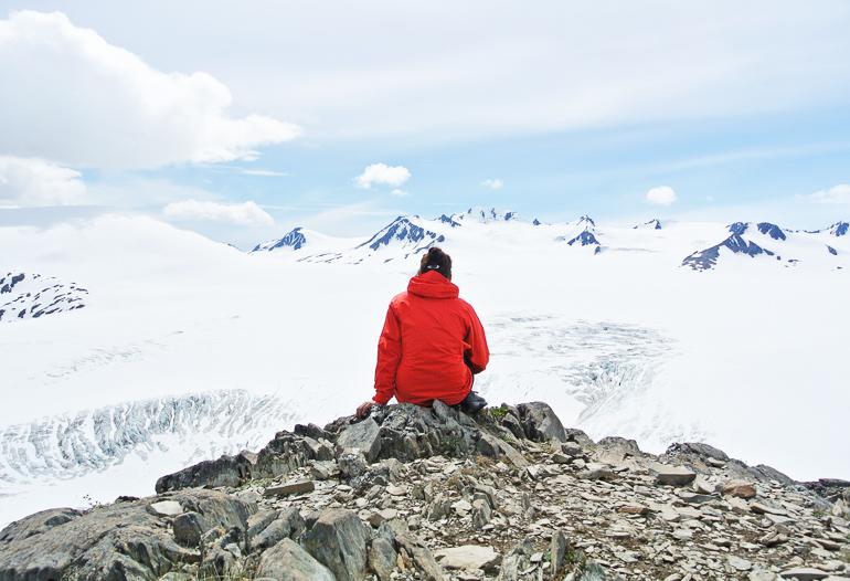 Travellers Insight Reiseblog Alaska Yukon Roadtrip Harding Icefield