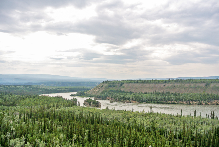 Travellers Insight Reiseblog Alaska Yukon Roadtrip Yukon River