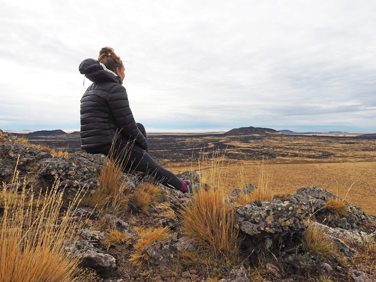 Pali Aike Nationalpark in Patagonien