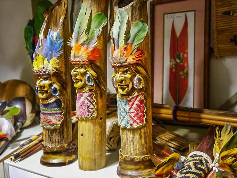 Verbotene Souvenirs: Indianische Köcher