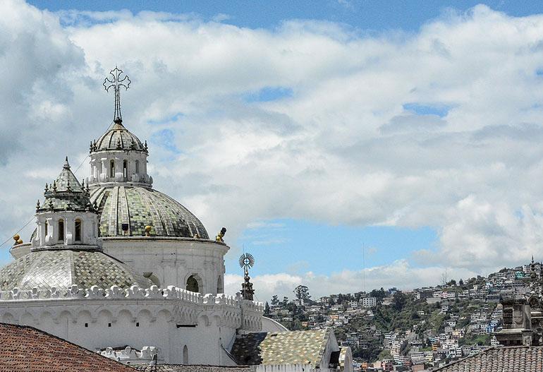 Wegen der unzähligen Kirchen wird Quito auch das Kloster Südamerikas genannt.