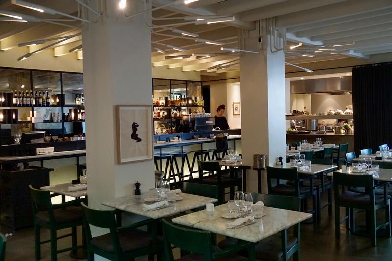 Schönes Ambiente: Restaurant Graanmarkt 13.
