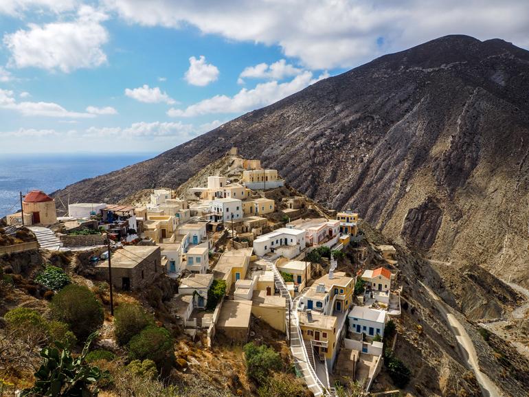 Olympos zählt zu den szenischsten Dörfern der Ägäis.