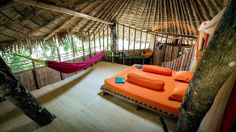 Bukat Raya auf Borneo: Zimmer