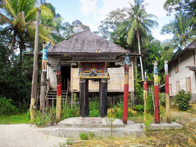 Sandung auf Borneo/Kalimantan