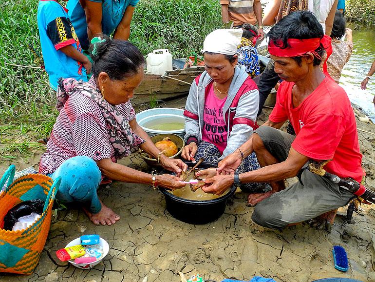 Tiwah auf Kalimantan