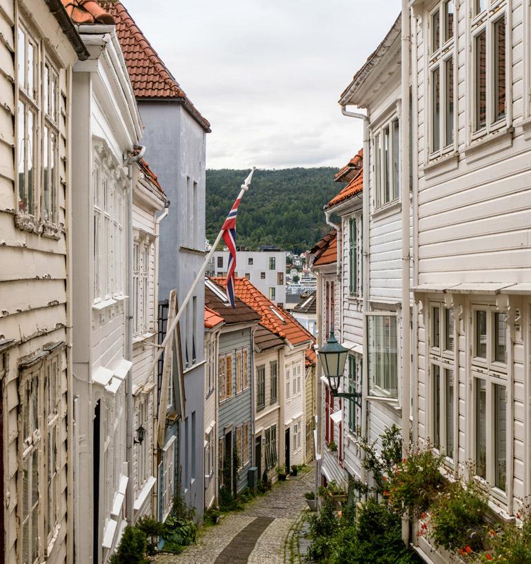 Altstadt von Bergen: Nøstet