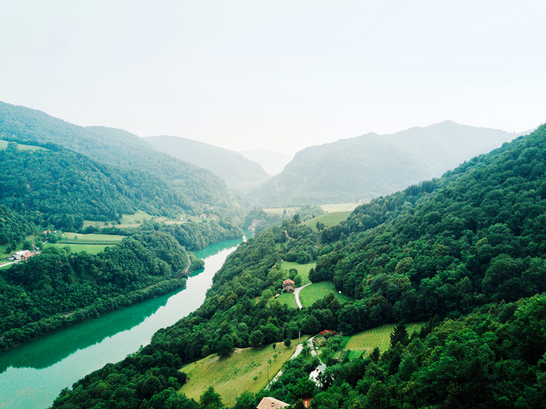 Slowenien-Rundreise: Soča