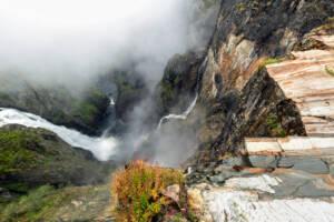 Der Vøringsfossen ist einer der bekanntesten Wasserfälle Norwegens.
