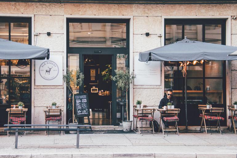 Bäckerei Elk Bakery in Verona von außen