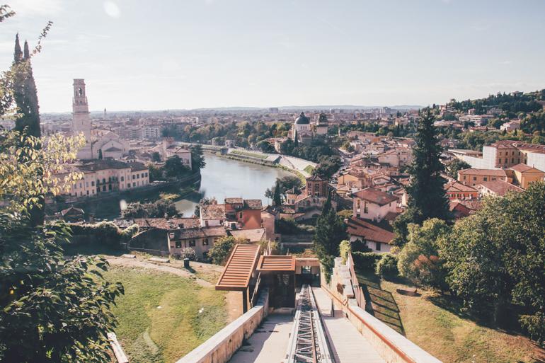 Seilbahn Castel San Pietro in Verona