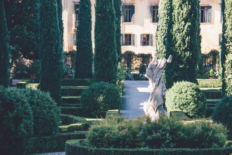im Giardino Giusti in Verona